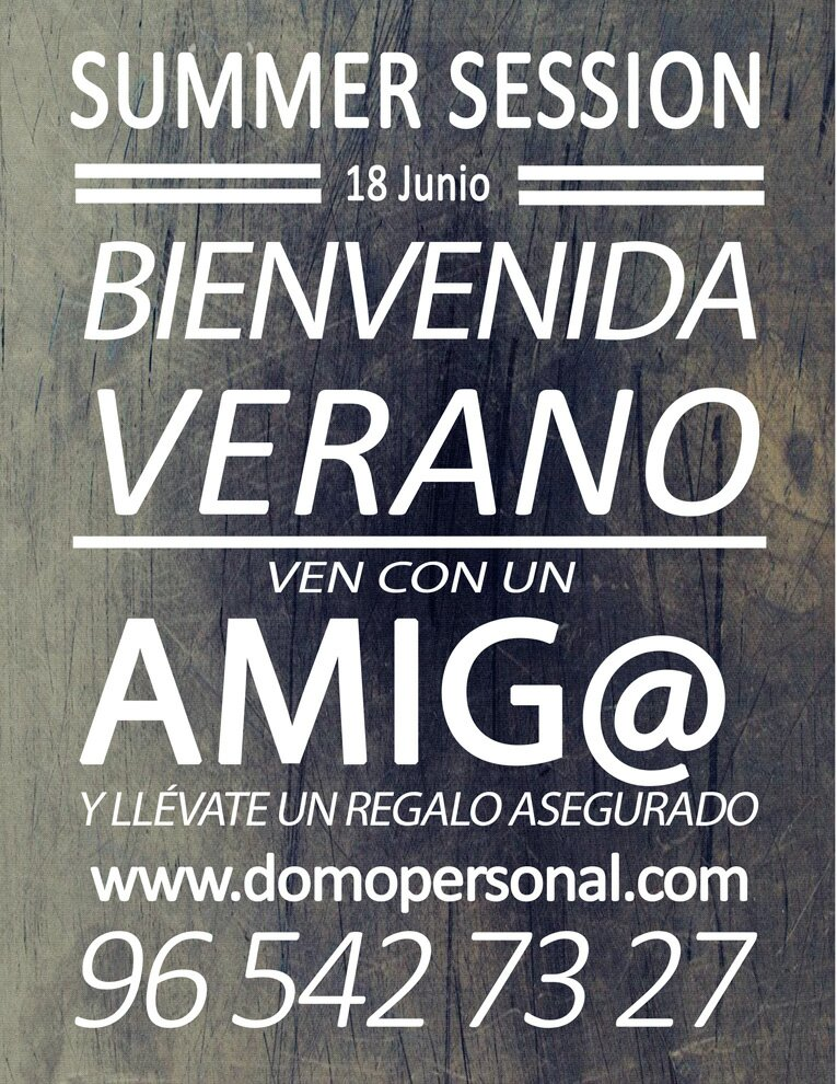 Summer Session DomoPersonal
