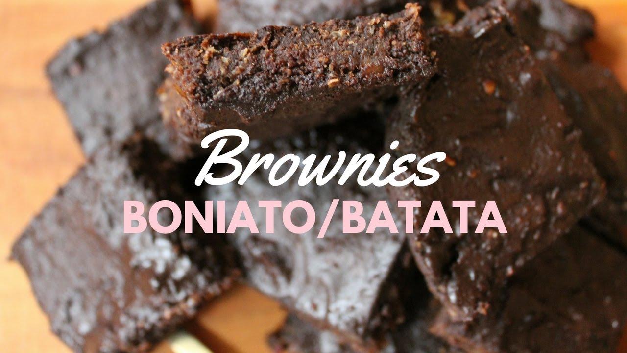 Domo-Receta para otoño: Brownie de boniato y dátiles