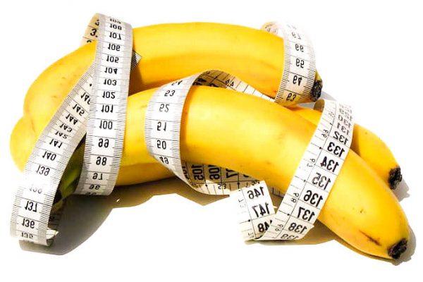 ¿El plátano engorda?