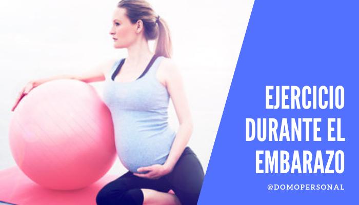 Entrenamiento personal para mujeres embarazadas
