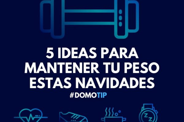 Cinco ideas para mantener tu peso estas navidades