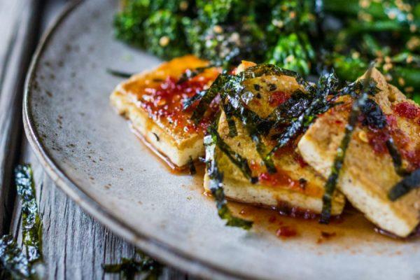 Domo Comida 4: Espinacas con tofu