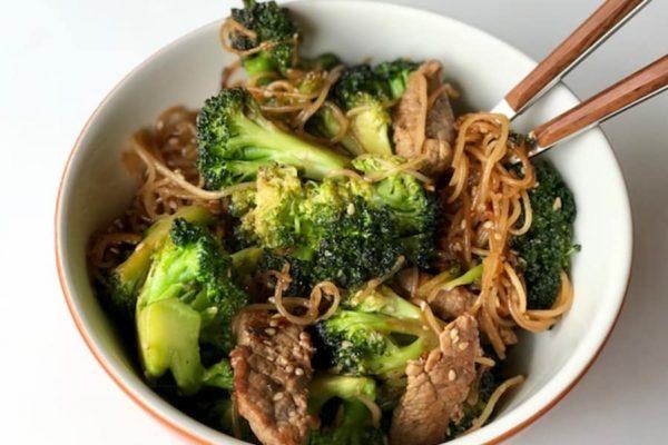Domo Comida 5: Salteado de ternera con brócoli
